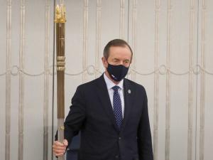 Co z wnioskiem o uchylenie immunitetu Grodzkiemu? Senat opóźnia jego procedowanie