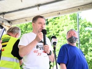 Piotr Duda: Pan Gowin ma w sercu geny liberała, nienawidzi związków zawodowych, gardzi pracownikami