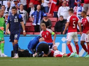 Duńska telewizja: Christian Eriksen miał podczas meczu EURO 2021 atak serca