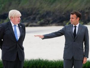 G7. Macron zażartował sobie ws. Irlandii Płn. I wywołał dyplomatyczny skandal. Johnson wściekły