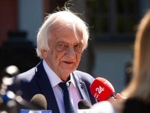 Wicemarszałek Sejmu Ryszard Terlecki spotkał się ze Swiatłaną Cichanouską