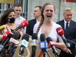 Białoruska aktywistka skarży się na sytuację w Polsce. Wolność jest złudna