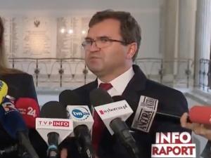 """Girzyński odpowiada na słowa rzecznik PiS. """"Powiedziała rzeczy, za które powinna zostać pozwana"""""""