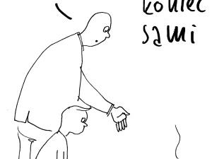 [Nowy rysunek Krysztopy] Tu była Agora