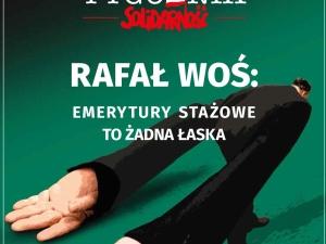 Najnowszy numer Tygodnika Solidarność: Rafał Woś: Emerytury stażowe to żadna łaska
