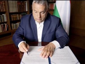 """[WIDEO] """"Fidesz przyłączył się do tego wezwania"""". Fidesz zamieścił nagranie z podpisania wspólnej deklaracji"""