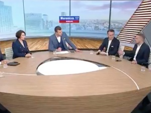 [video] Kłótnia na antenie TVP Info: Niech Pan nie kłamie w żywe oczy; Tusk skopał Trzaskowskiego