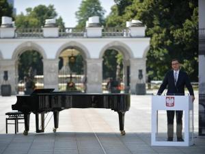 Premier Morawiecki: Pałac Saski ma szansę stać się bijącym sercem odrodzonej III RP