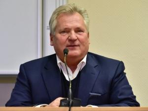 Kwaśniewski zachwycony powrotem Tuska. Polityk ciężkiej wagi, dużej klasy, ogromnego...