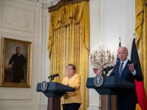 Merkel w Białym Domu. Biden: Wielka przyjemność gościć moją wielką przyjaciółkę