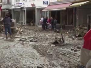 [video] Takie rzeczy mogą zdarzyć się w biedniejszych krajach, nie tutaj. Szokujące słowa Niemki po powodzi