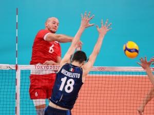 Polscy siatkarze wygrali z Włochami w Tokio