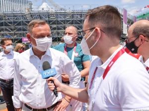"""""""Szanuję KAŻDEGO"""". Polski prezydent podziękował wioślarkom za środowysukces"""