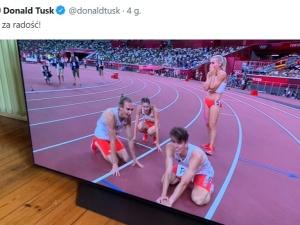 Tusk ogląda olimpiadę we wrażej stacji? Panie Donaldzie, logo TVP oczek nie wypaliło?
