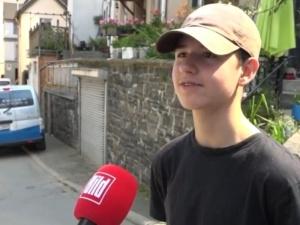Pamiętacie 15-letniego Polaka, który uratował niemieckiego strażaka? Odebrał podziękowania
