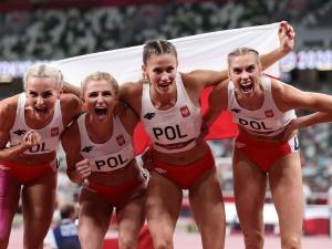 Wspaniały bieg Polek! Sztafeta kobiet 4x400 m zdobyła srebrny medal!