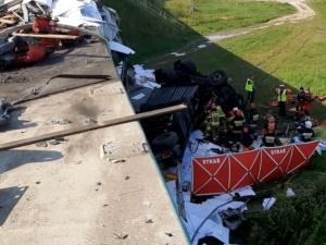 Zatrzymano mężczyzn z BMW, którzy uciekli z miejsca wypadku na S8. Jeden ma do odsiadki 5 lat