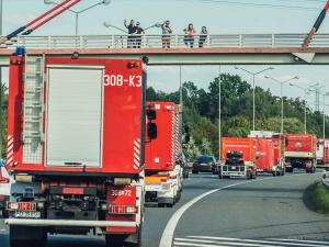 Polscy strażacy dotarli do Grecji. Pomogą w walce z pożarami [FOTO]