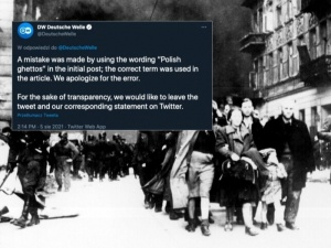 Deutsche Welle przeprasza za wpis o polskich gettach. Wiceszef MSZ: To jest po prostu kłamstwo historyczne