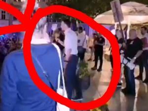 [video] Szokujące. Tak poseł PO Adam Szłapka zachęcał demonstrujących do wulgarnych okrzyków