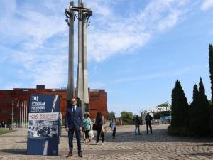 Gdańsk: Na Placu Solidarności stanęła wystawa IPN TU rodziła się opozycja