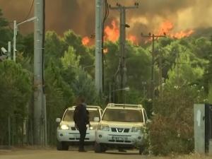 Polscy strażacy w Grecji: Najgorsze mamy za sobą, ale pożar jest nieprzewidywalny