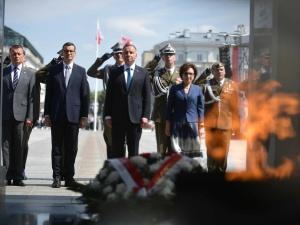 Prezydent Duda: Dziękuję za zapowiedź spektakularnego wzmocnienia naszych wojsk pancernych