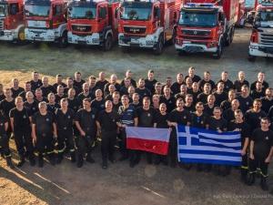 """""""Polscy strażacy wykonują niezwykłą robotę w terenie"""". Grecki premier podziękował Mateuszowi Morawieckiemu"""
