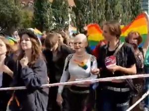 [VIDEO] To jest wojna. Wypie..alać z tego kraju. Tolerancja. Marsz równości w Gdańsku