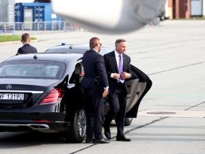 Prezydent przybył do Kijowa. Weźmie udział w obchodach Dnia Niepodległości Ukrainy