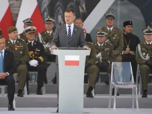 Szef MON: Na granicy z Białorusią powstanie nowy płot o wysokości 2,5 metra
