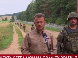 Błaszczak: Jedna z gwiazd TVN zaatakowała żołnierzy Wojska Polskiego