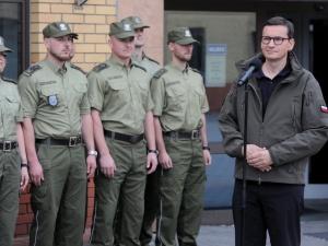 Morawiecki: Reżim Łukaszenki wybrał granicę polsko-białoruską do dokonania prowokacji