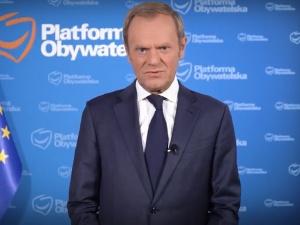 Tusk poucza rządzących i opozycję? Wystąpienie byłego premiera ws. sytuacji na granicy