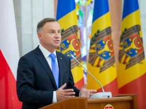 Andrzej Duda w Mołdawii: Musicie jak najszybciej usunąć skompromitowanych sędziów i prokuratorów [WIDEO]