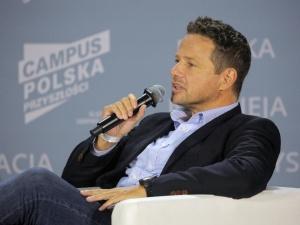 [VIDEO] Wyobrażacie sobie?. Rafał Trzaskowski porównał się do Marka Suskiego