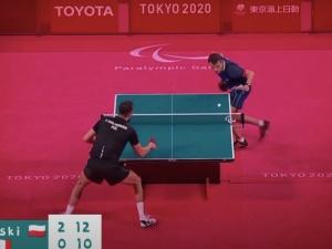 Paraolimpiada w Tokio. Mamy drugie złoto! Patryk Chojnowski mistrzem w tenisie stołowym [WIDEO]