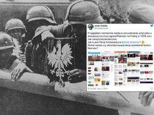 """Wiceminister sprawdził, co niemieckie media piszą o rocznicy wybuchu II wojny światowej. """"Skoordynowana akcja?"""""""