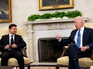 Spotkanie prezydentów Ukrainy i USA. Biden: USA będą silnie wspierać suwerenność Ukrainy w obliczu rosyjskiej agresji