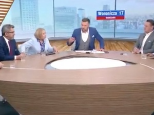 [video] Kłótnia w TVP Info. Wanda Nowicka: Wojsko Polskie boi się stać na granicy?