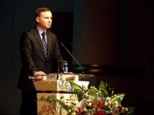 Prezydent Andrzej Duda: Nie chcemy wiele, tylko prawdę