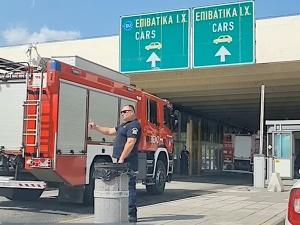 [VIDEO] Tak greccy funkcjonariusze żegnali polskich strażaków!