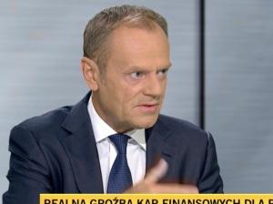 """Tusk zapowiada w TVN24, że """"wybawi"""" Polskę od płacenia kar? """"Jestem blisko, żeby przekonać te osoby…"""""""