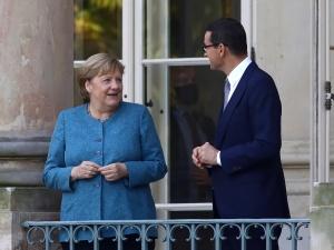 Co na to politycy opozycji? Merkel zapytana o kryzys na granicy polsko-białoruskiej