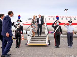 Para prezydencka przybyła do Rzymu