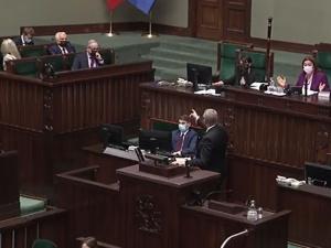 [video] Awantura w Sejmie! To jest skandal!. Grzegorz Braun groził ministrowi Niedzielskiemu