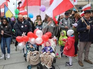 [Nasz Patronat] Wojownicy Maryi, Klepacka, Pospieszalski... Tak było na Narodowym marszu Życia i…