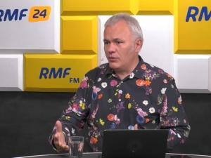 Impreza urodzinowa red. Mazurka z politykami. Stacja RMF FM zabiera głos