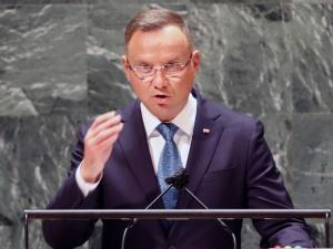 ONZ. Prezydent Duda: reżim na Białorusi prowadzi atak hybrydowy na granice Polski, Łotwy i Litwy