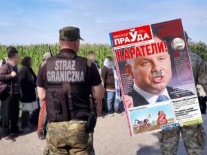 Andrzej Duda jak Hitler. Skandaliczna okładka białoruskiej gazety